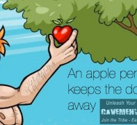 An apple per day keeps the doctor away as the saying goes!